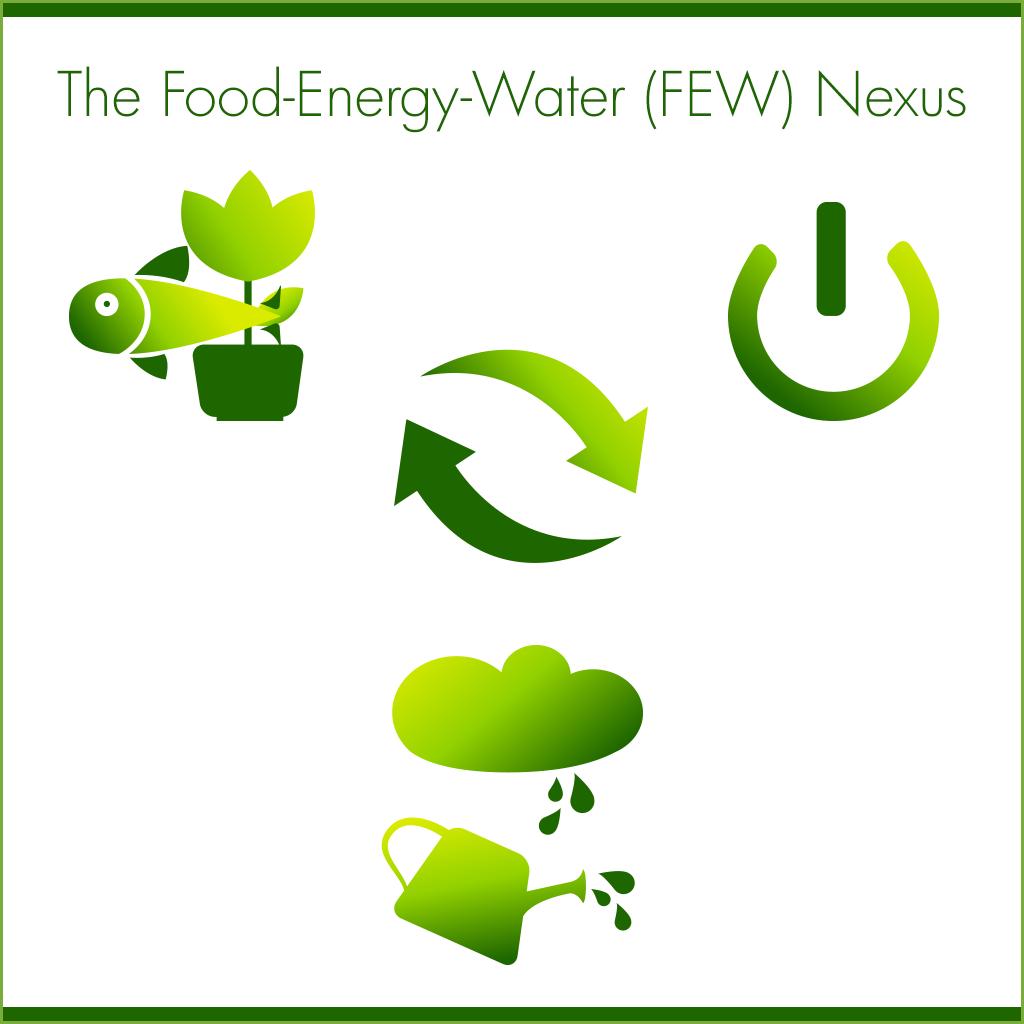 Illustration of the Food-Energy-Water Nexus